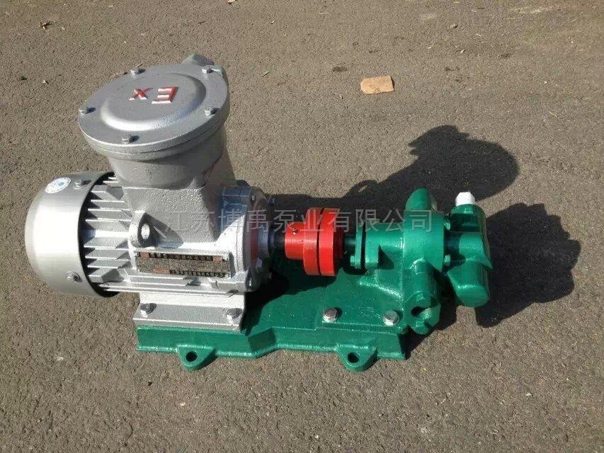 防爆齿轮油泵型号参数及选型