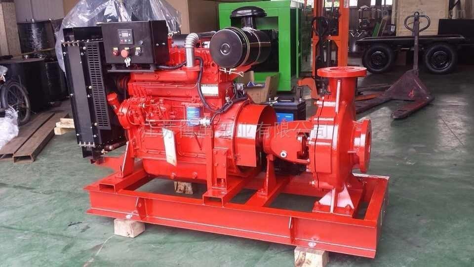 柴油机单级离心泵组型号参数及选型
