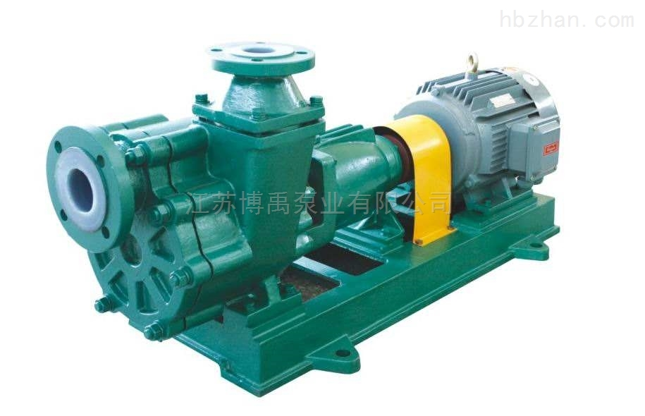 氟塑料化工自吸泵型号参数及选型