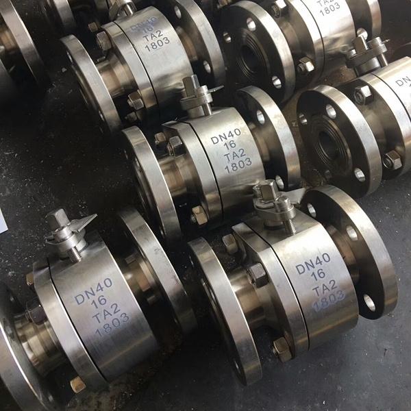 钛材质球阀Q41F-16TA2