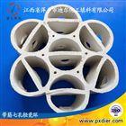 焦化用七孔带筋轻瓷环填料