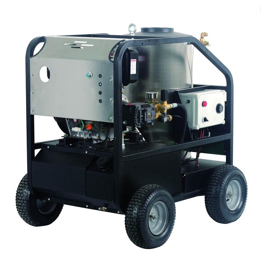 柴油机高压热水清洗机