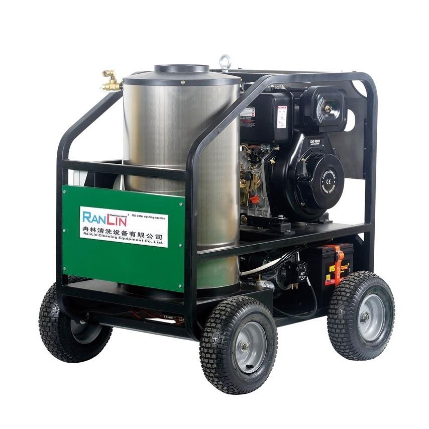 汽油机高压热水清洗机