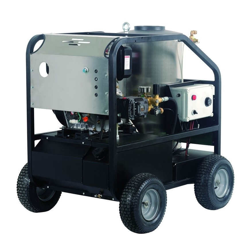 国产紧凑型高压热水清洗机