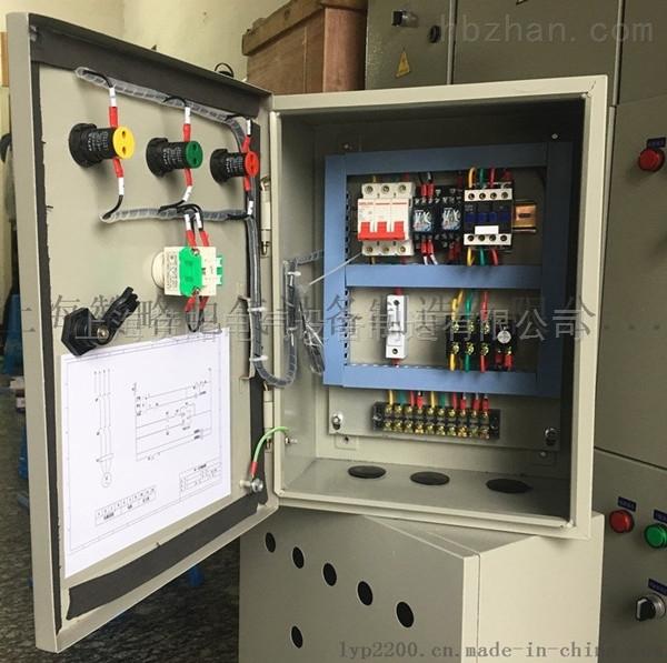 一、产品详情 直接启动控制柜具有过载、短路、缺相保护以及泵体漏水,电机超温及漏电等多种保护功能及齐全的状态显示,并具备单泵及多泵控制工作模式,多种主备泵切换方式及各类起动方式。可广泛适用于工农业生产及各类建筑的给水、排水、消防、喷淋管网增压以及暖通空调冷热水循环等多种场合的自动控制。 二、产品特点: 1、用途广泛:对于各种场合,如生活给排水、消防、喷淋、增压、空调冷却循环、工业控制用泵、污水排放……都有相应的专用型号规格。控制电机功率范围0.