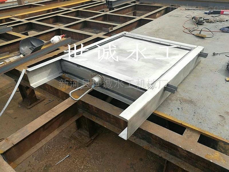 不锈钢插板闸门厂家定制直销
