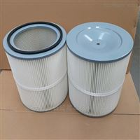 PTFE覆膜除尘滤筒尺寸