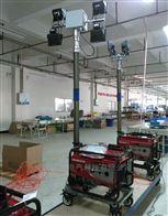 带发电机SW2910大型移动升降灯遥控照明车