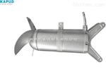 大功率抗缠绕底座安装 QJB15/12潜水搅拌机