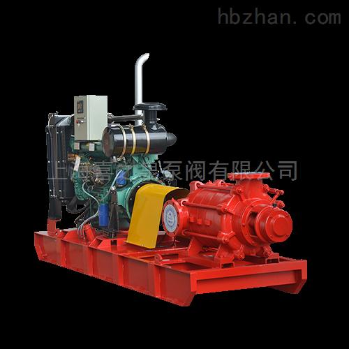 柴油机消防泵组成