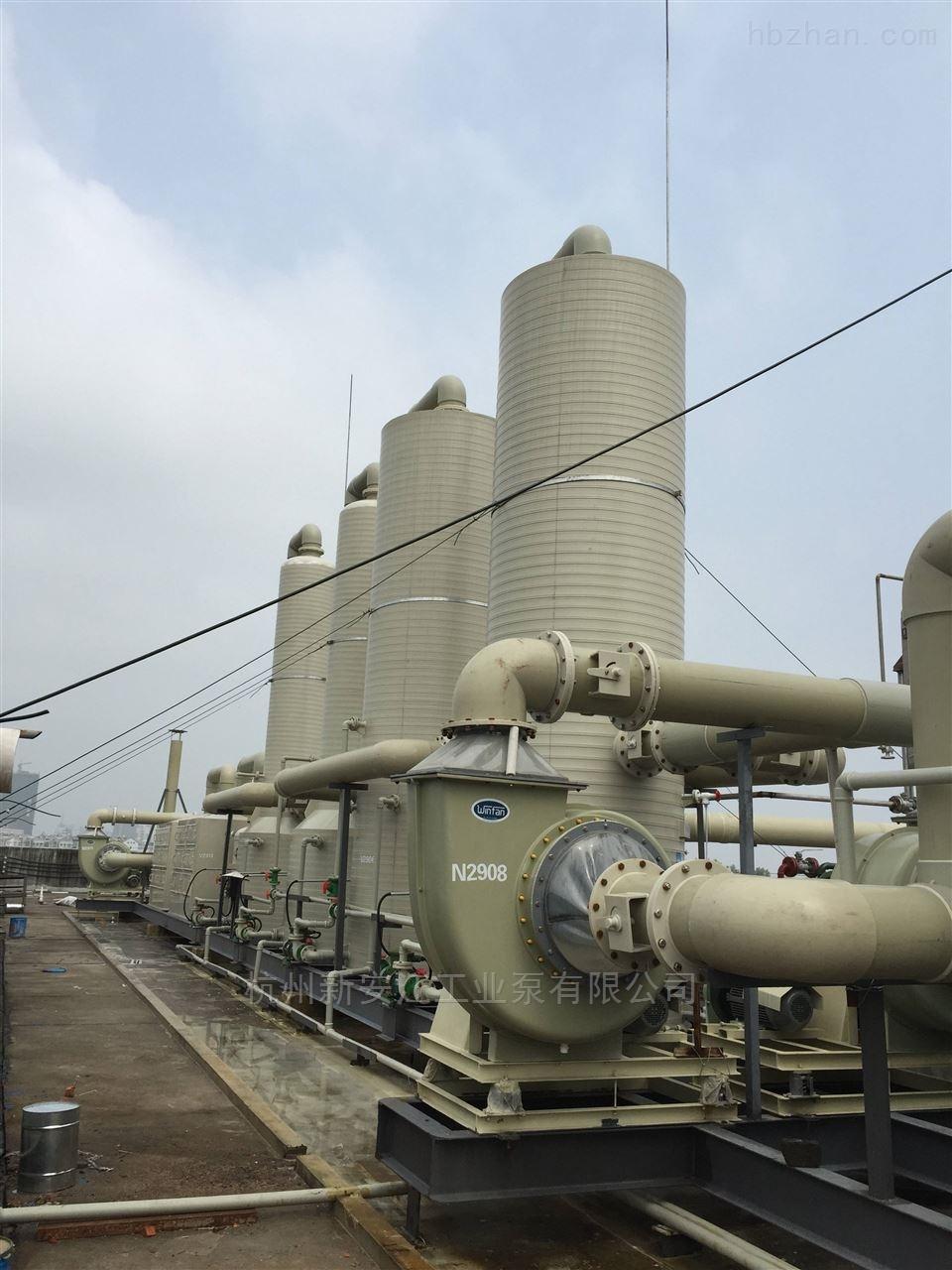新安江PPH酸雾吸收塔供应
