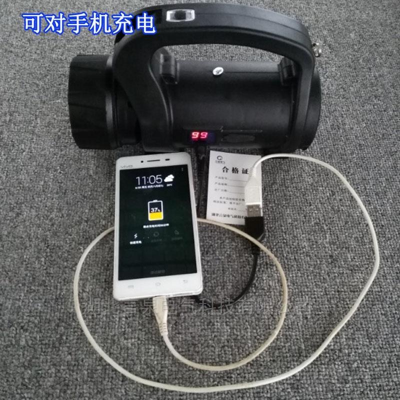 SW2510多功能手摇发电探照灯电力强光工作灯