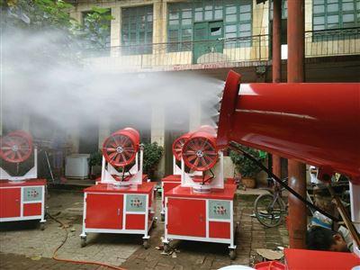 贵州工地降尘雾炮机供应