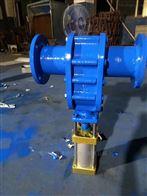 Z644H-10C气动陶瓷双闸板闸阀