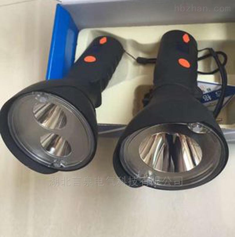 LED尾部强磁带电量显示2*3W大功率强光手电