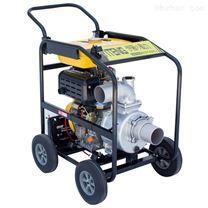 移动式3寸柴油水泵电启动带轮子