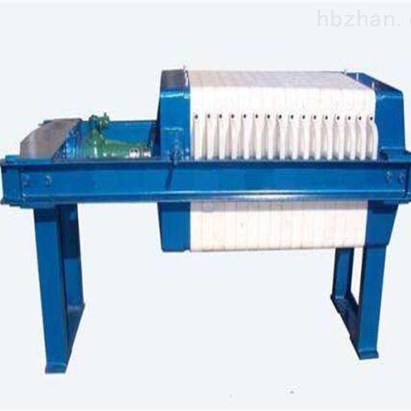 酿酒业污泥处理板框压滤机价格便宜