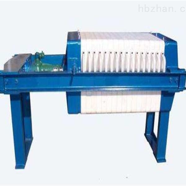 板框压滤机生产厂家工艺特点