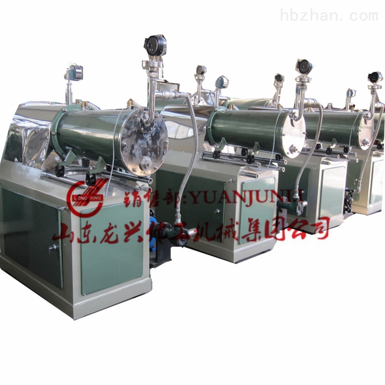 山东龙兴卧式砂磨机(隔膜泵)