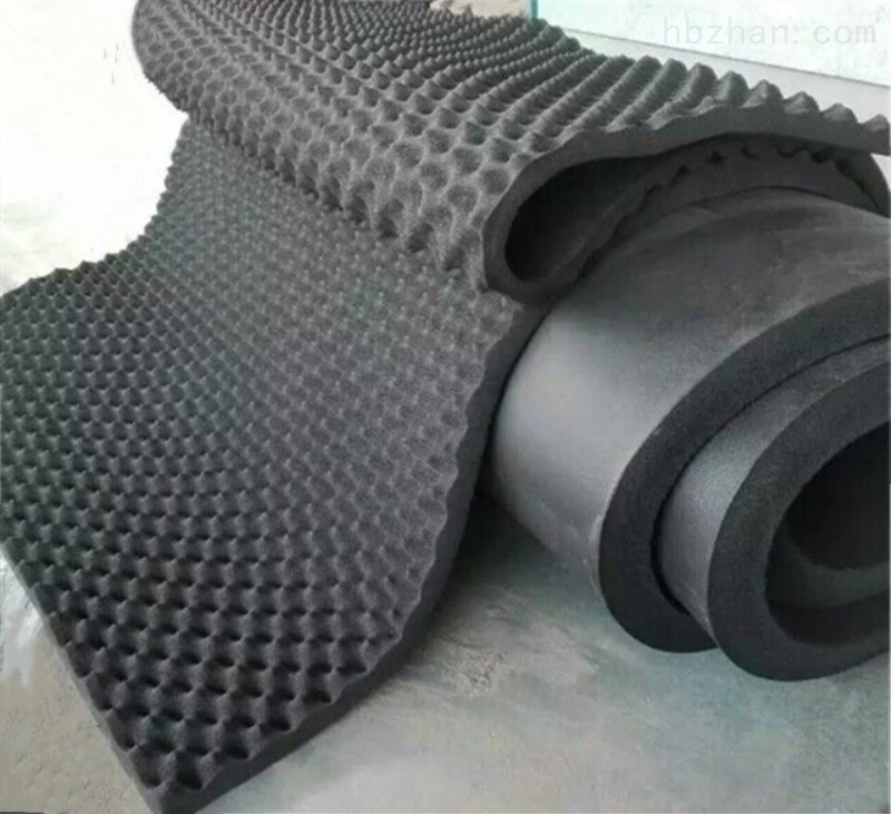 保温板波峰吸音棉蛋壳棉、铝箔背胶橡塑保温板厂家