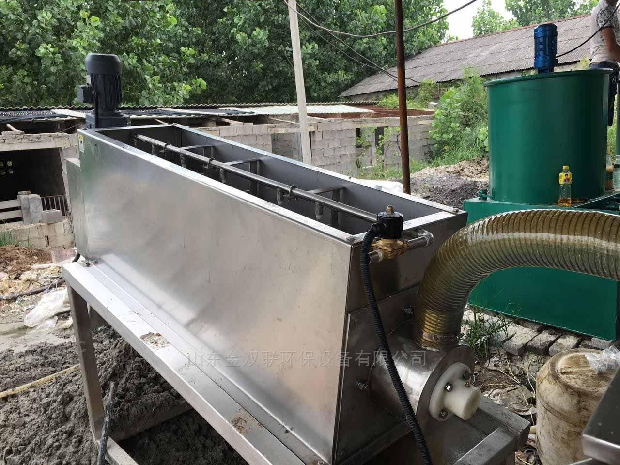叠螺污泥脱水机结构原理及特点