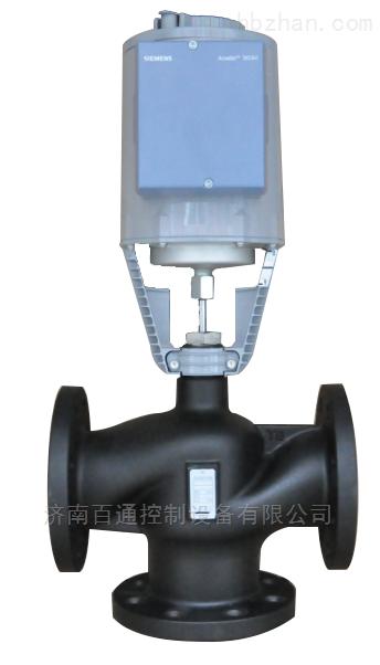 济南西门子混装电动调节阀DN100-SKC60