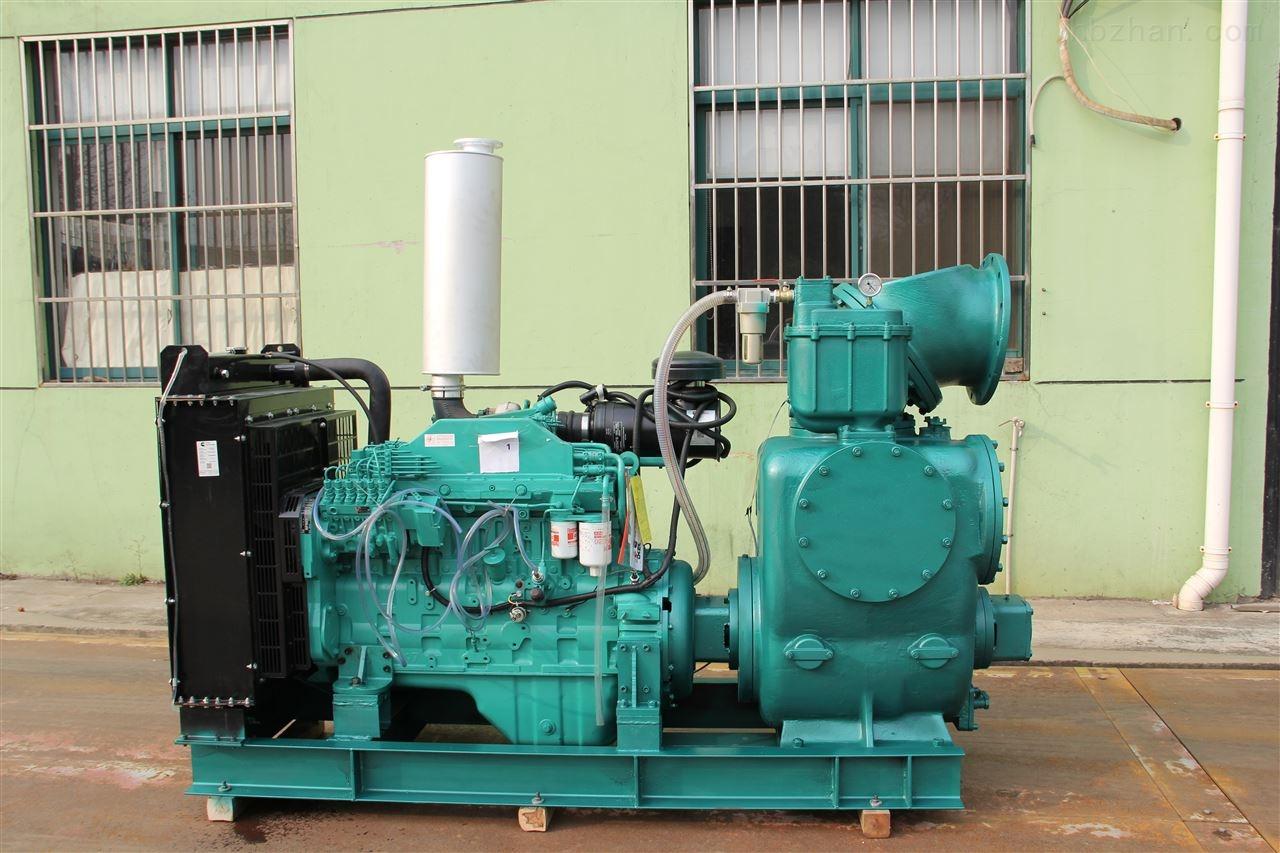 带真空装置的柴油机式双吸自吸泵