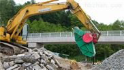 挖掘机用建筑垃圾破碎机