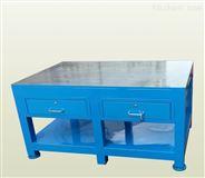 广西钳工台、钢板工件桌、模具飞模台