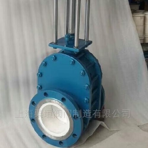 气锁双闸耐磨陶瓷阀型号是Z644HC-10