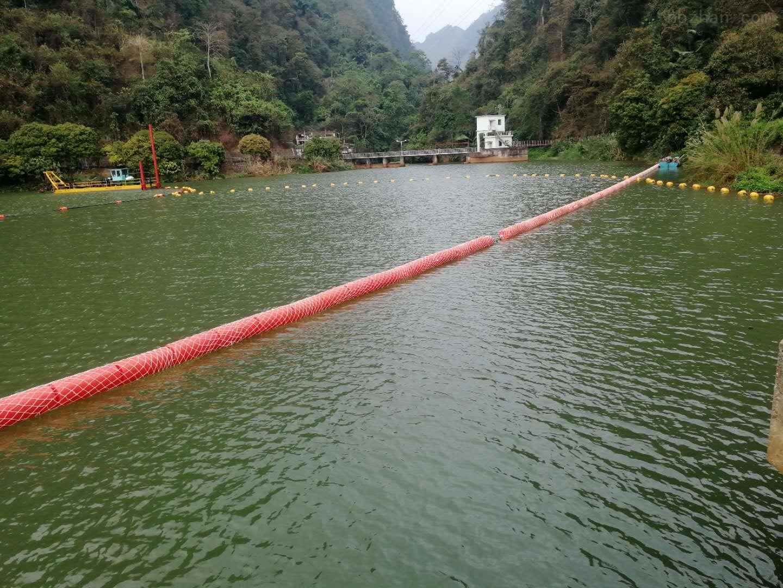 广东河道拦污拦渣拦水草浮筒厂家直销