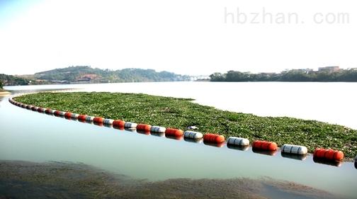 湖面拦污浮排拦截水葫芦作用浮筒详情介绍