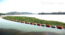 一体式河道拦垃圾浮筒带网拦污浮排介绍