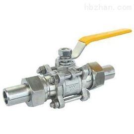 Q21F三片式活接對焊球閥