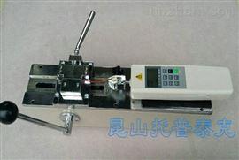 端子拉力測試儀500N手動端子拉力測試臺,線束推拉力檢測儀
