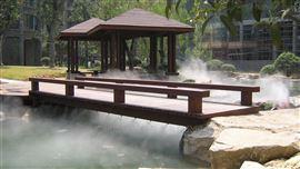 揭阳水景人工湖造雾