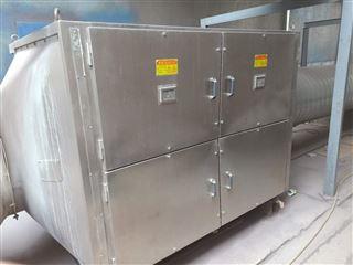 青岛某饲料厂发酵恶臭处理设备