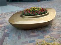 青岛科瑞德玻璃钢花盆景观小品
