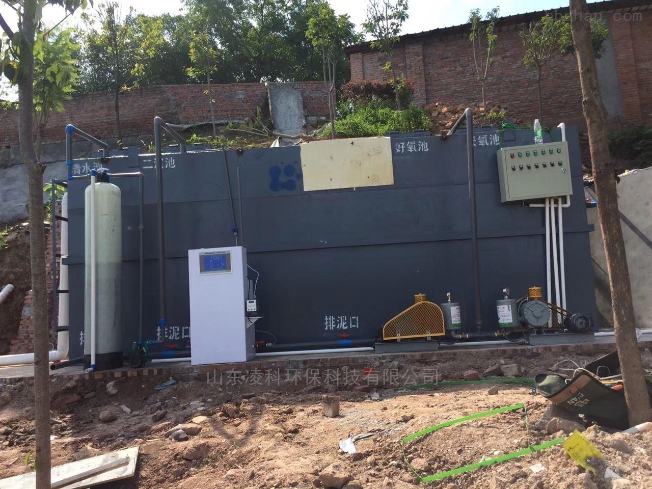 南宁一体化污水提升泵站处理达标