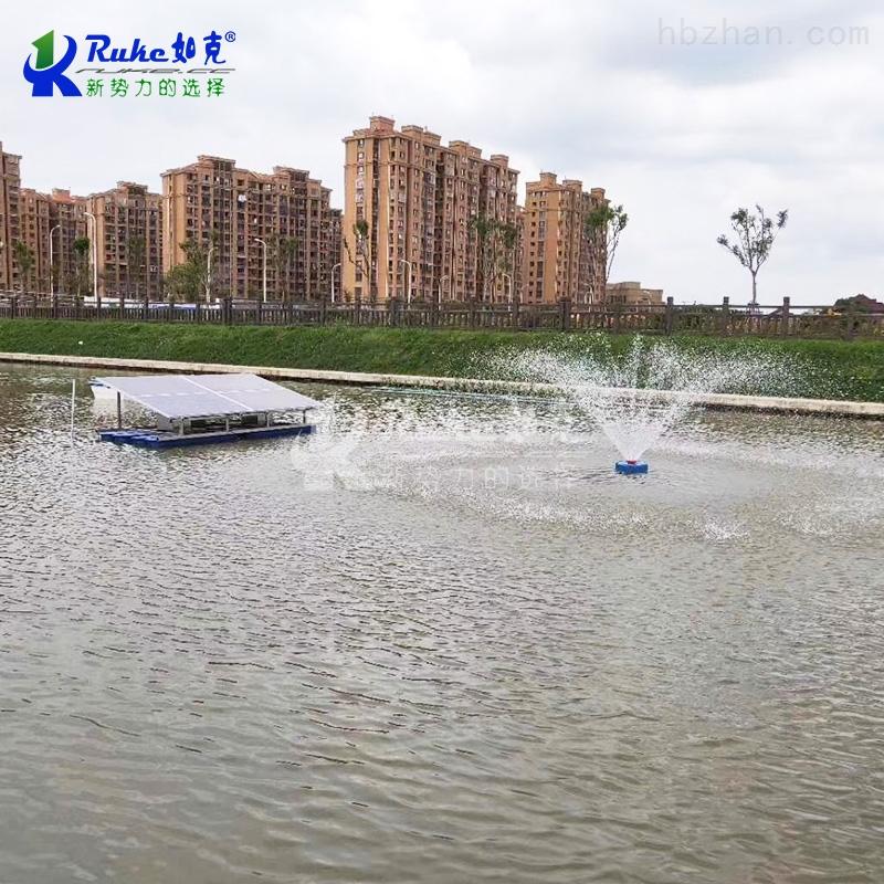 RKSUN1100-P新品光伏喷泉式增氧机,可移动式排灌机械
