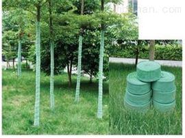 冬季养护树木保温带