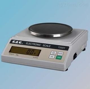 T5000Y型电子天平使用说明