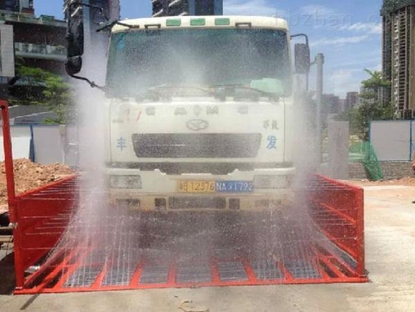 南充工地洗车机的使用效果及流程