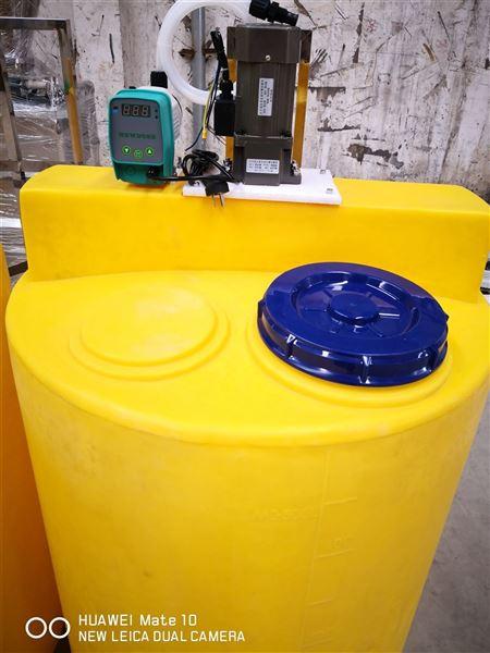 汙水處理加藥裝置說明