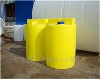 1T,1.5T,2T,2.5T,3T,4T2噸塑料加藥箱MC-2000L溶藥罐帶攪拌