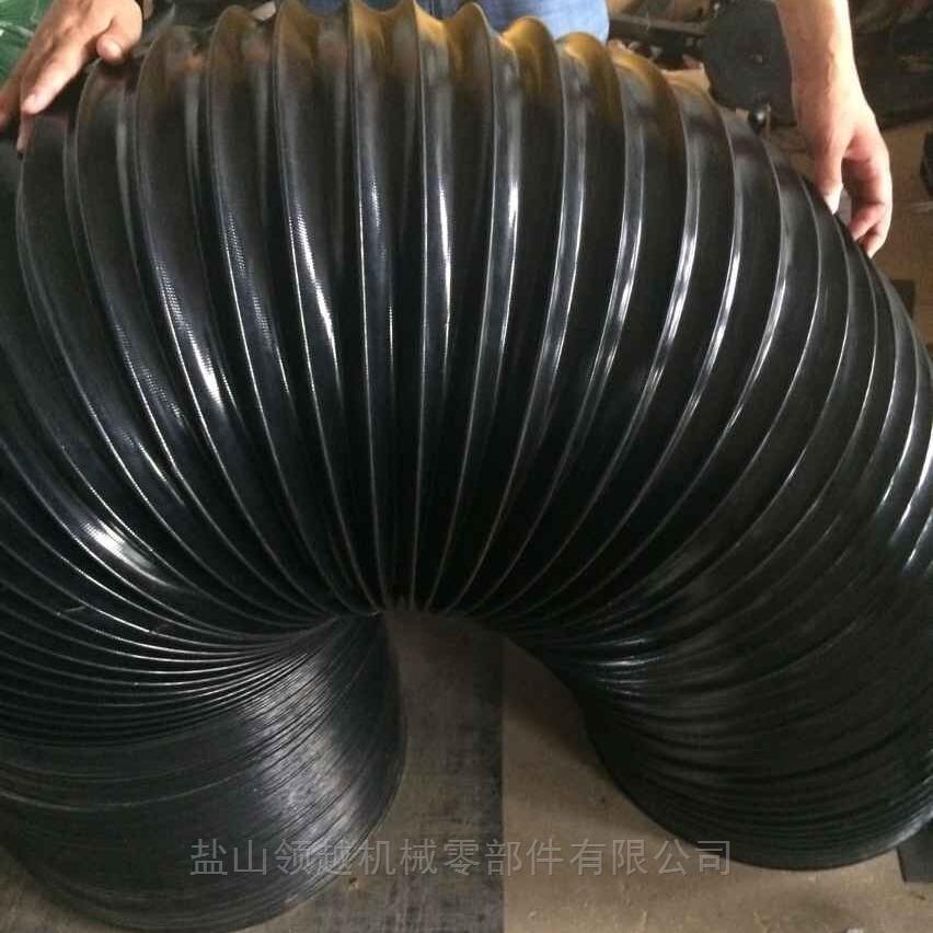耐高溫伸縮通風管生產