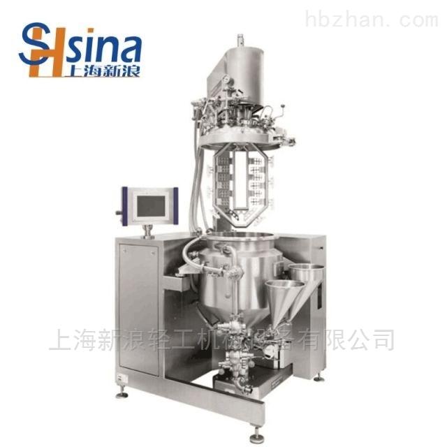 SME小型實驗室真空均質乳化機