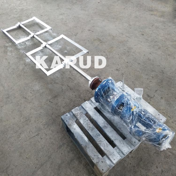 慢速框式搅拌机絮凝混凝反应搅拌器顶式安装