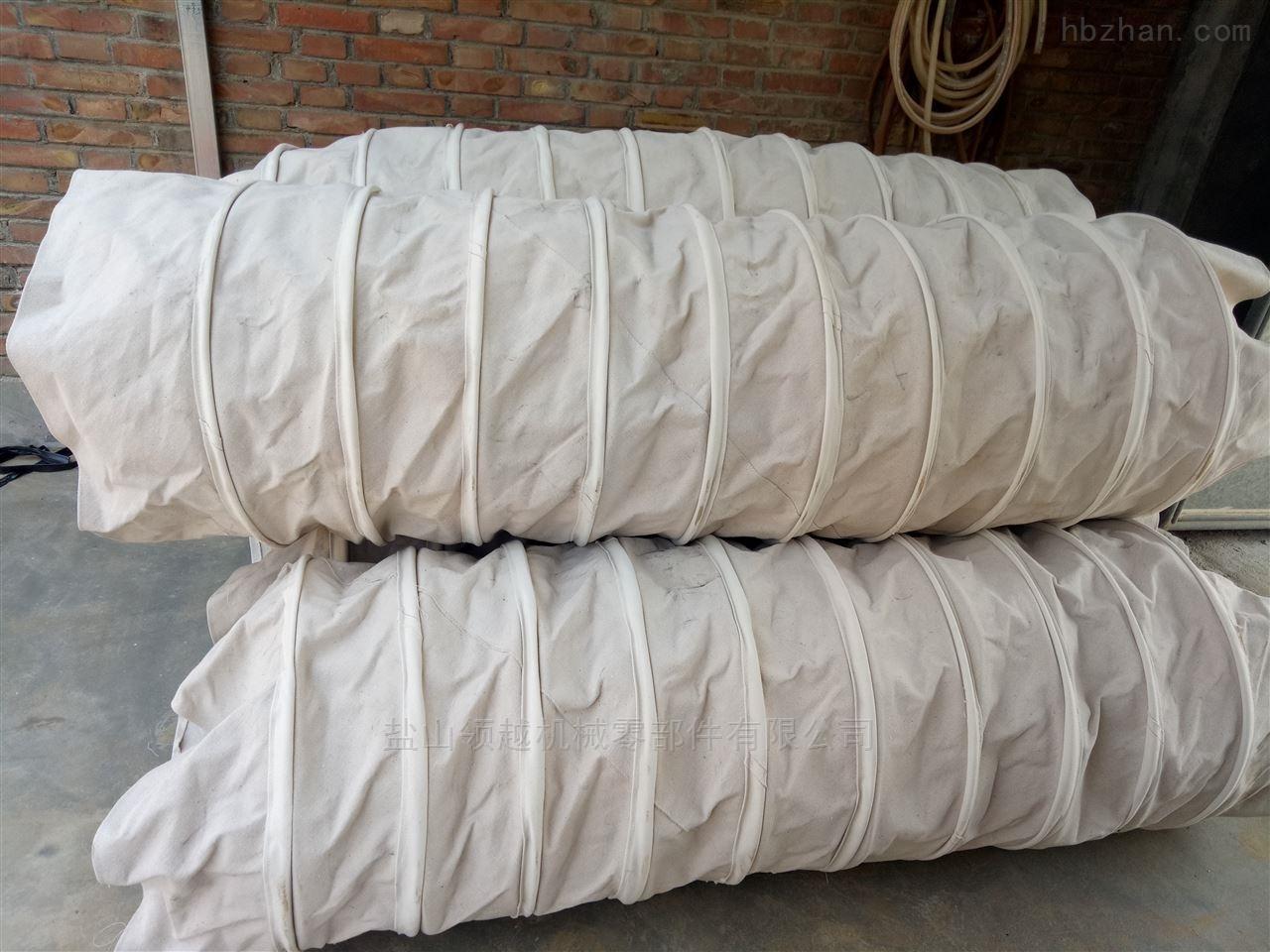 帆布伸缩布袋水泥厂电厂专用
