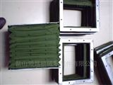 方形矩形帆布伸缩节  内加钢护板